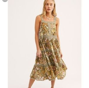 Spell & The Gypsy Collective Dresses - Jungle Midi Dress XS